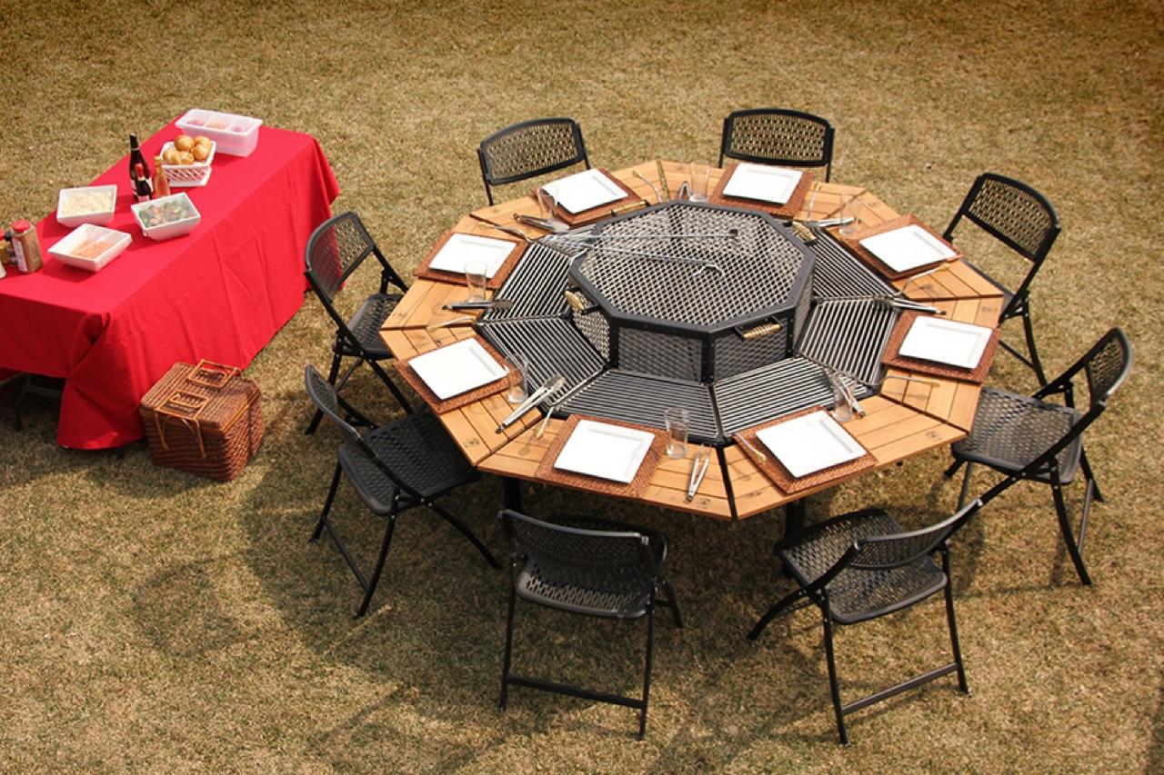 miza za žar